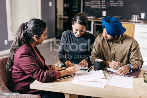 istock Taxes for business owners 893590478