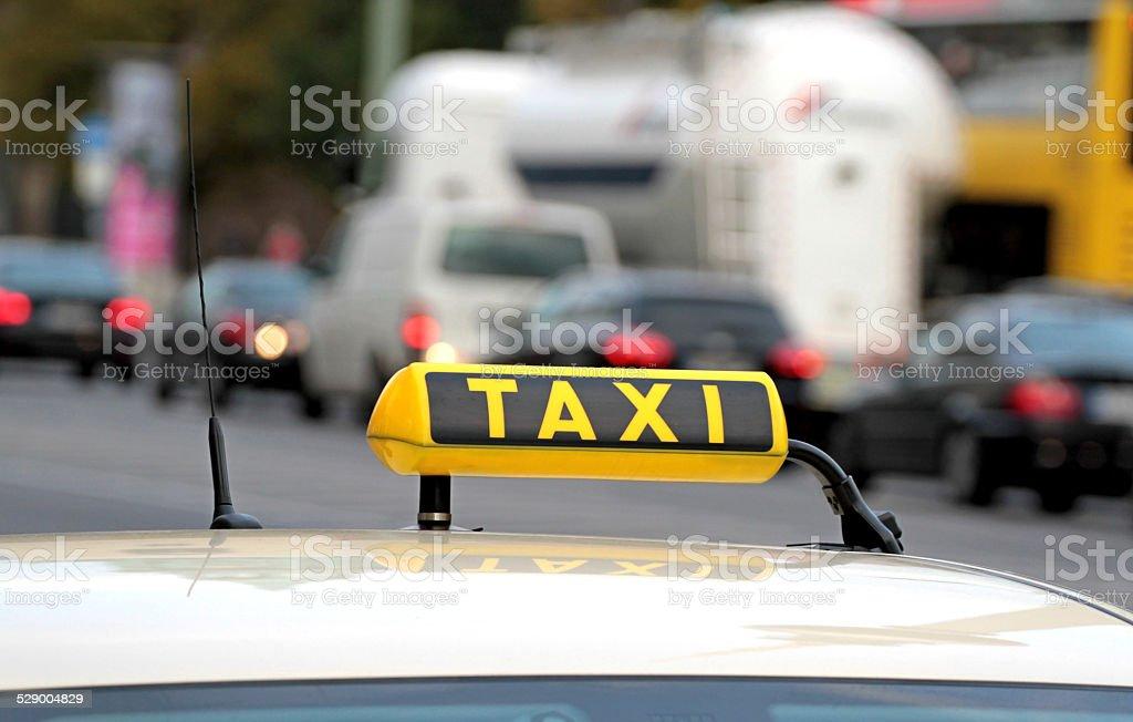 Taxi und Verkehr – Foto