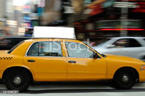 istock Taxi Billboard in Times Square 151536291