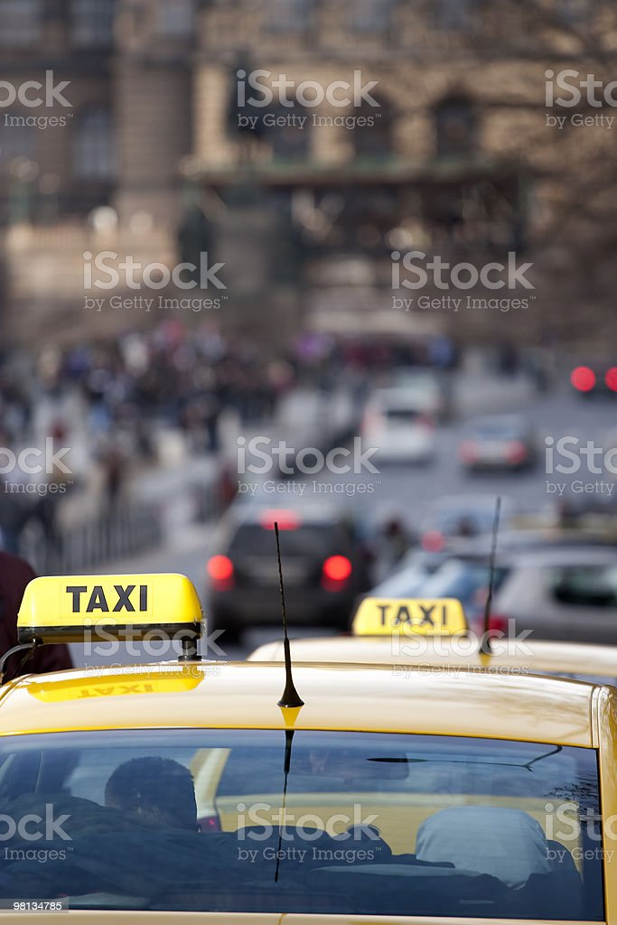 I Taxi foto stock royalty-free