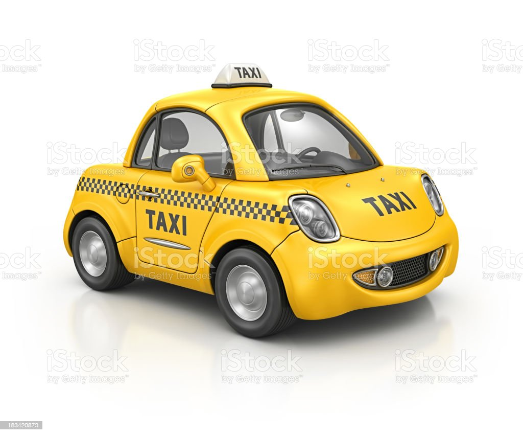 taxi car royalty-free stock photo