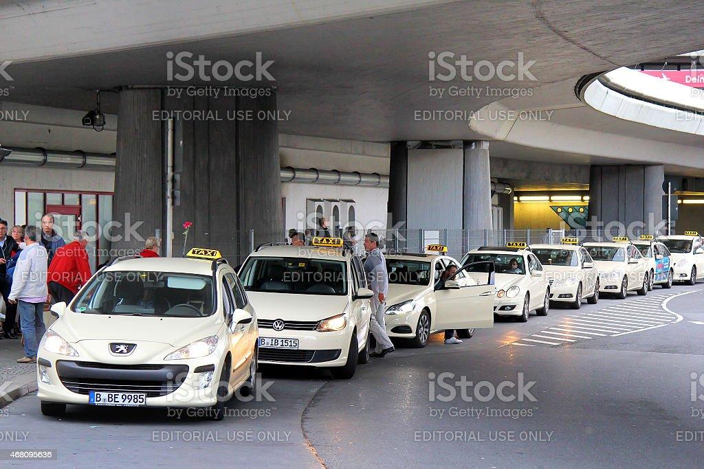 Táxi de carros - foto de acervo