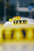 istock Taxi cars waiting for passenger 1322170367