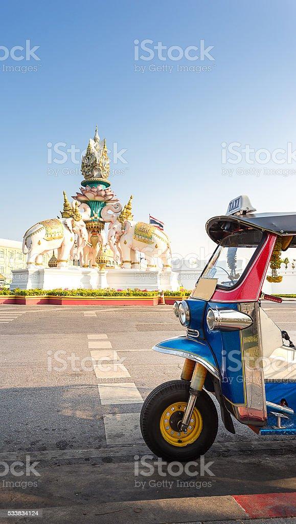 taxi in Bangkok Thailand stock photo