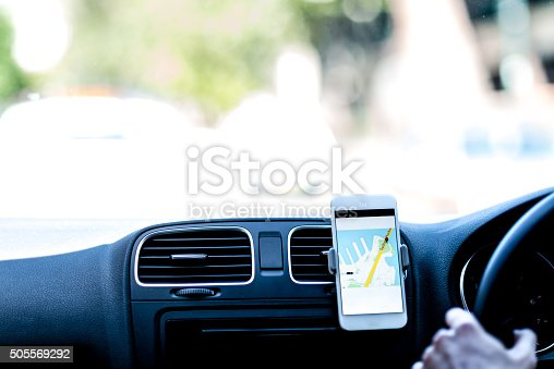 istock Taxi navigation 505569292