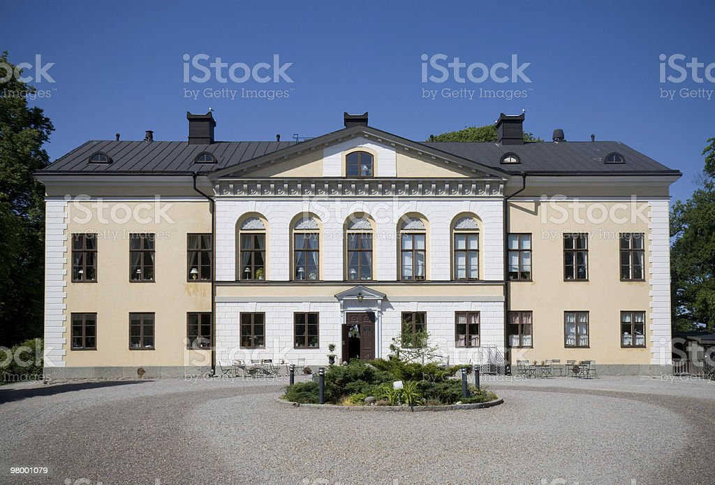 Taxinge castle royalty free stockfoto
