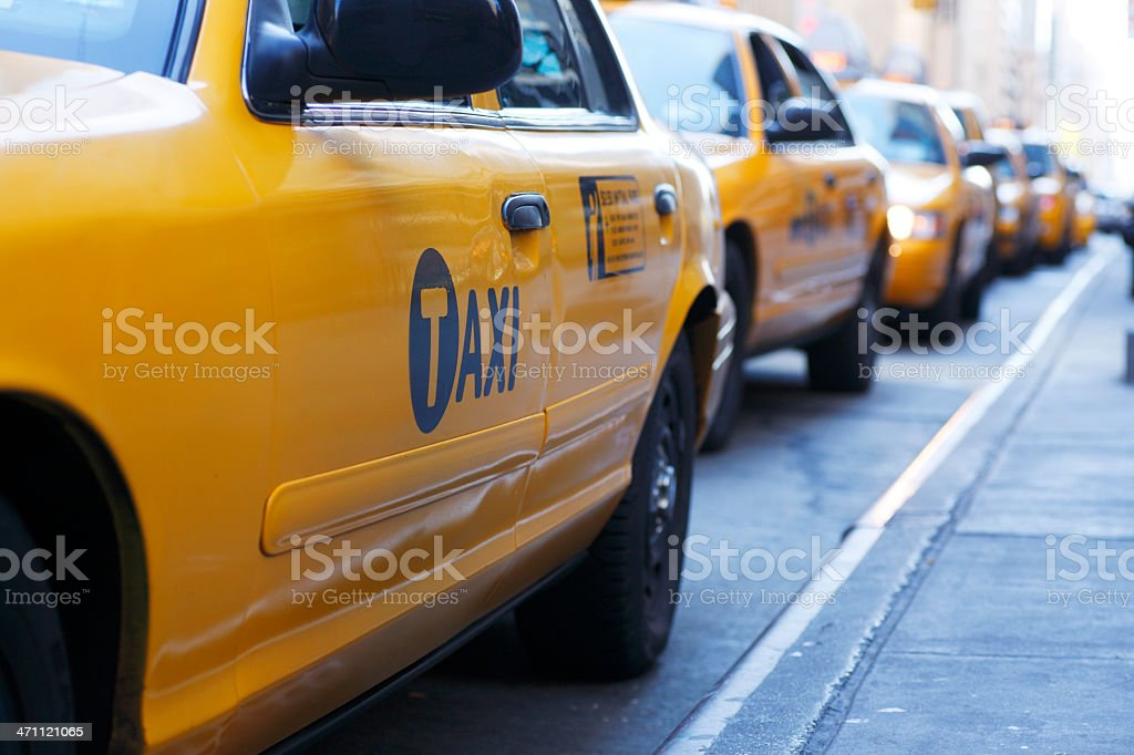 Taxis stock photo