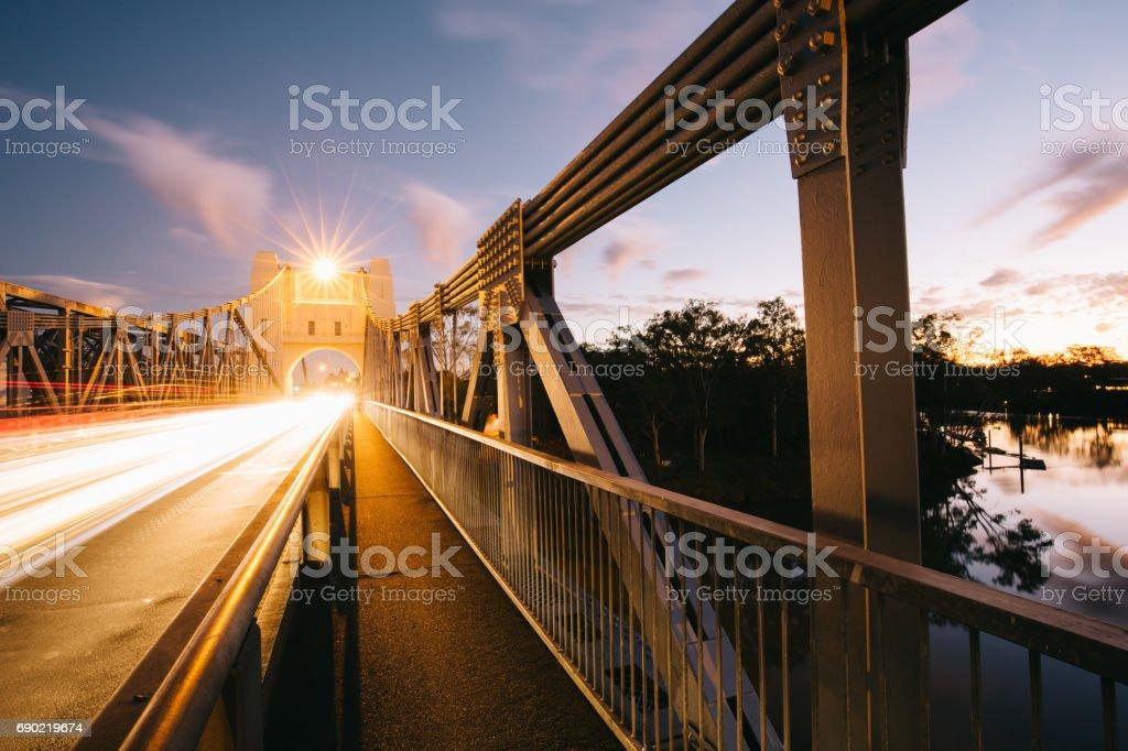 taylor bridge stock photo