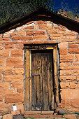 Historical Taylor Cabin in the Sycamore Wilderness Area in Sedona, Arizona, U.S.A.