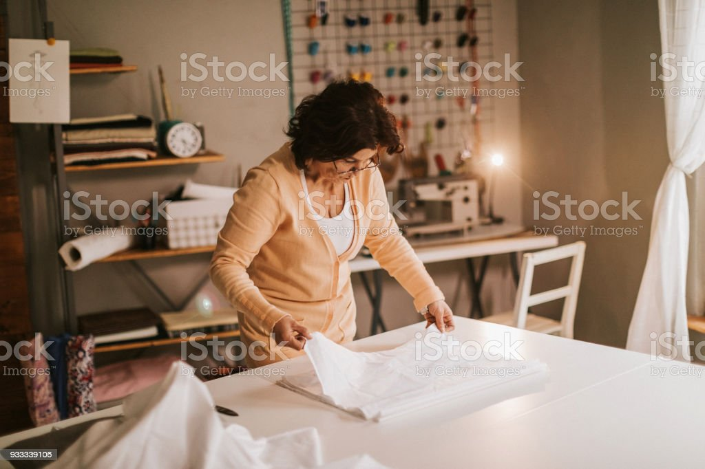 Taylor working on new collection stock photo