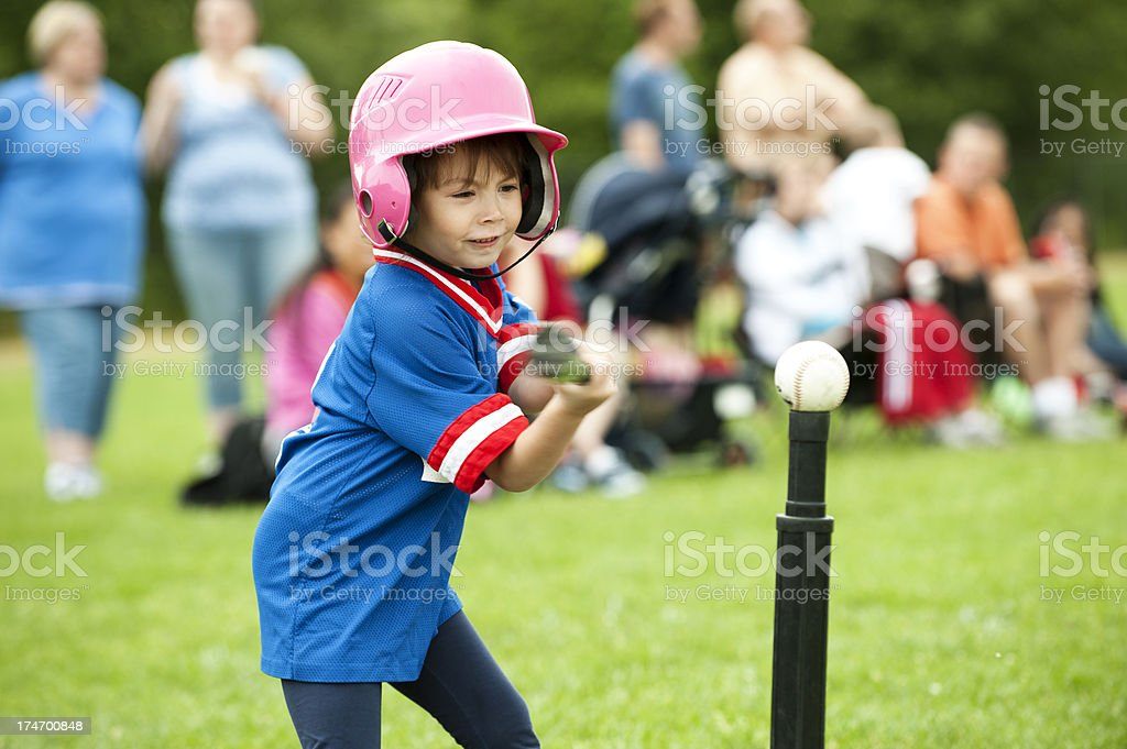 T-Ball Swing stock photo
