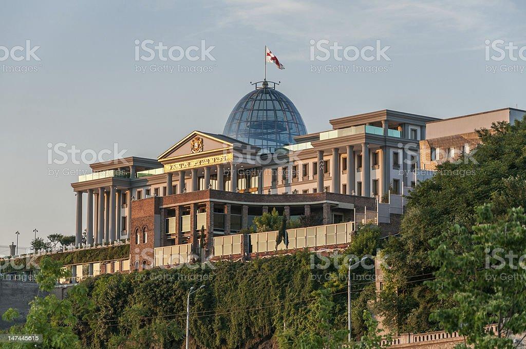 Tbilisi, Georgia, City view stock photo