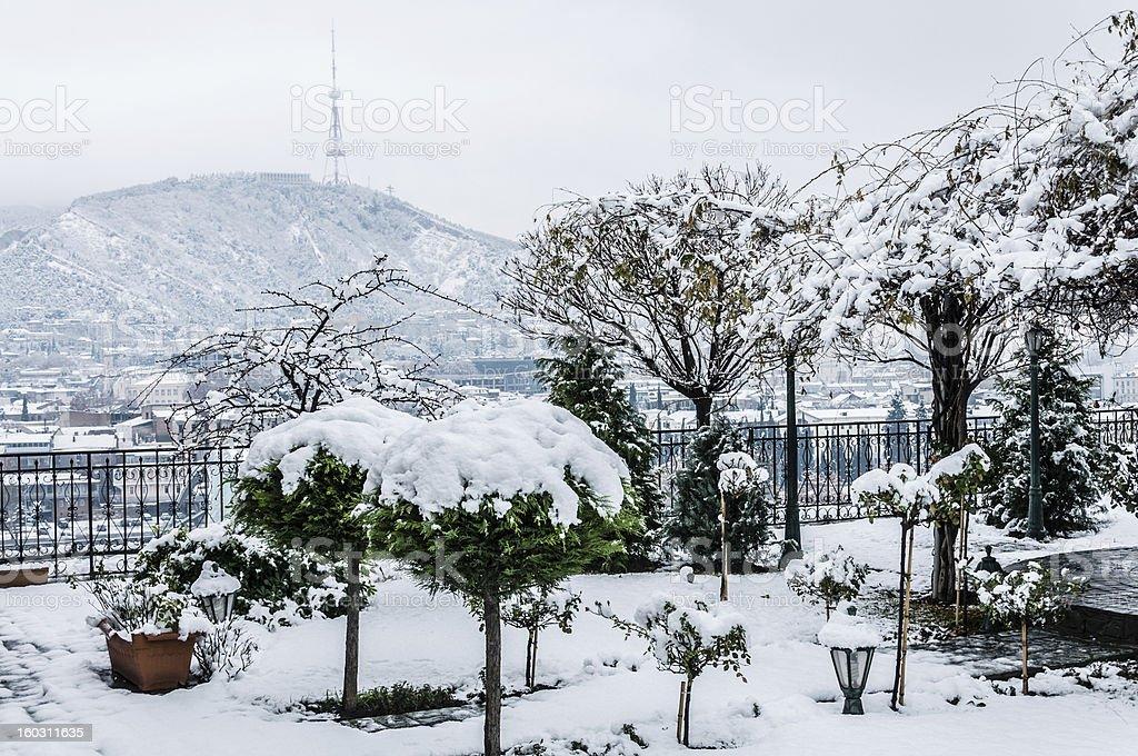 Tbilisi, Georgia, City view royalty-free stock photo