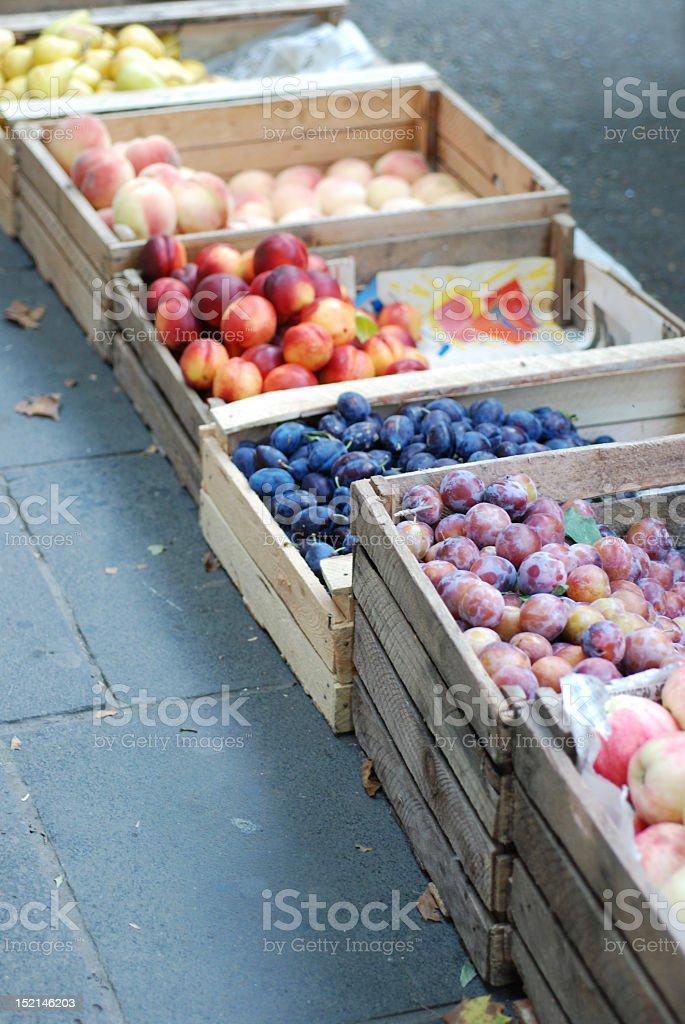 Tbilisi; Georgian Farmers Market royalty-free stock photo