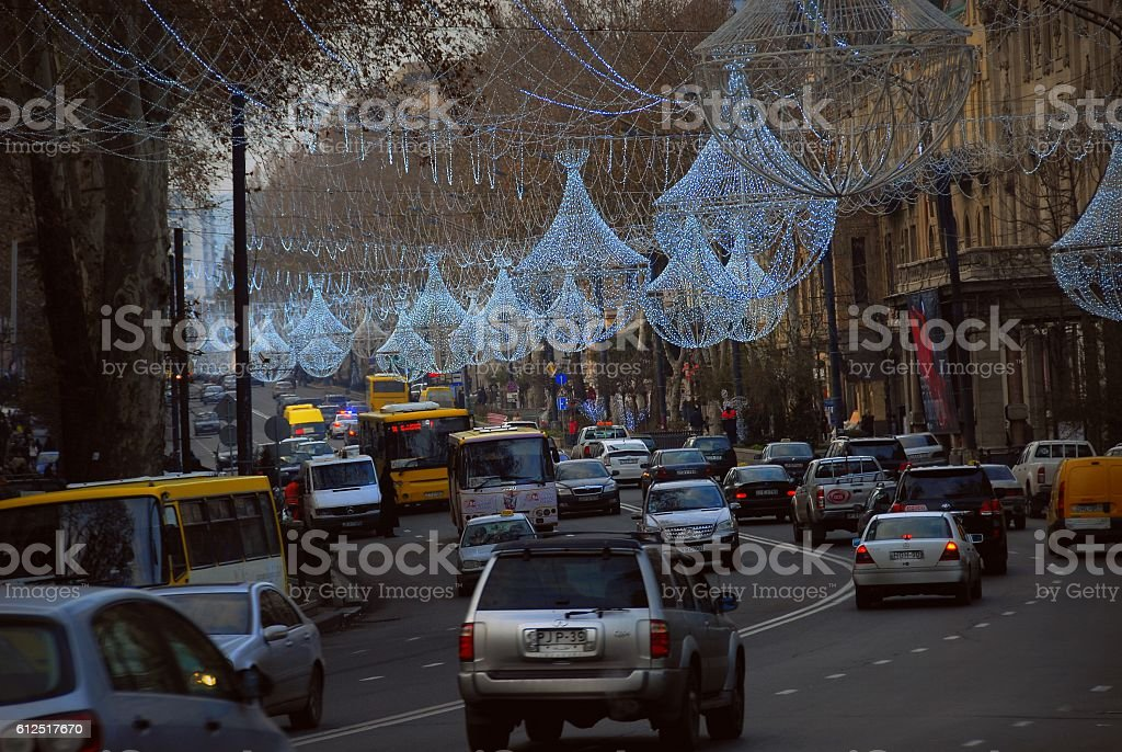 Tbilisi in Georgia стоковое фото
