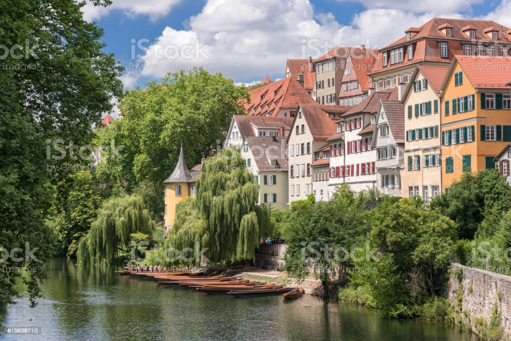 Tübingen, Germany stock photo