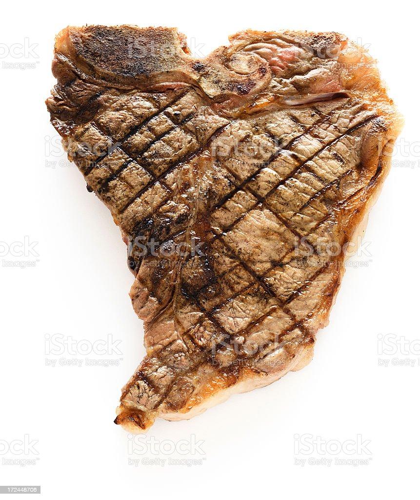 T-Bone Steak royalty-free stock photo