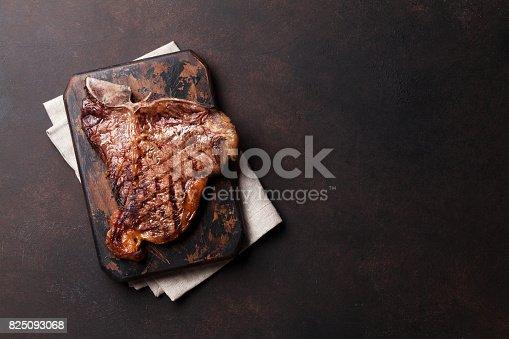 916096852 istock photo T-bone steak 825093068