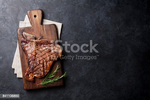 808351094 istock photo T-bone steak 841106850