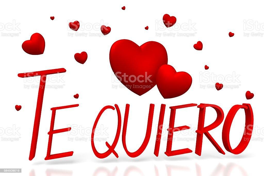 3d Te Quiero I Love You Spanish Stockfoto Und Mehr Bilder Von Dating