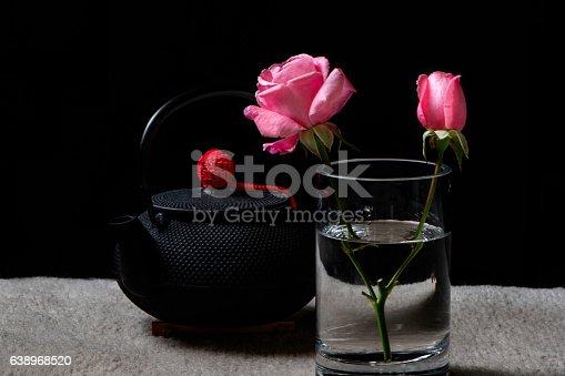 155139080istockphoto Tea and Flowers 638968520