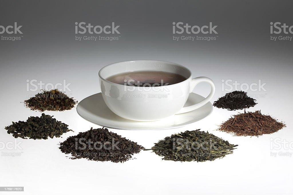 Tea assortment royalty-free stock photo