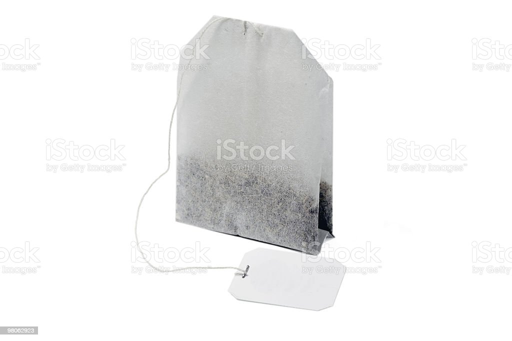 tea bag royalty-free stock photo