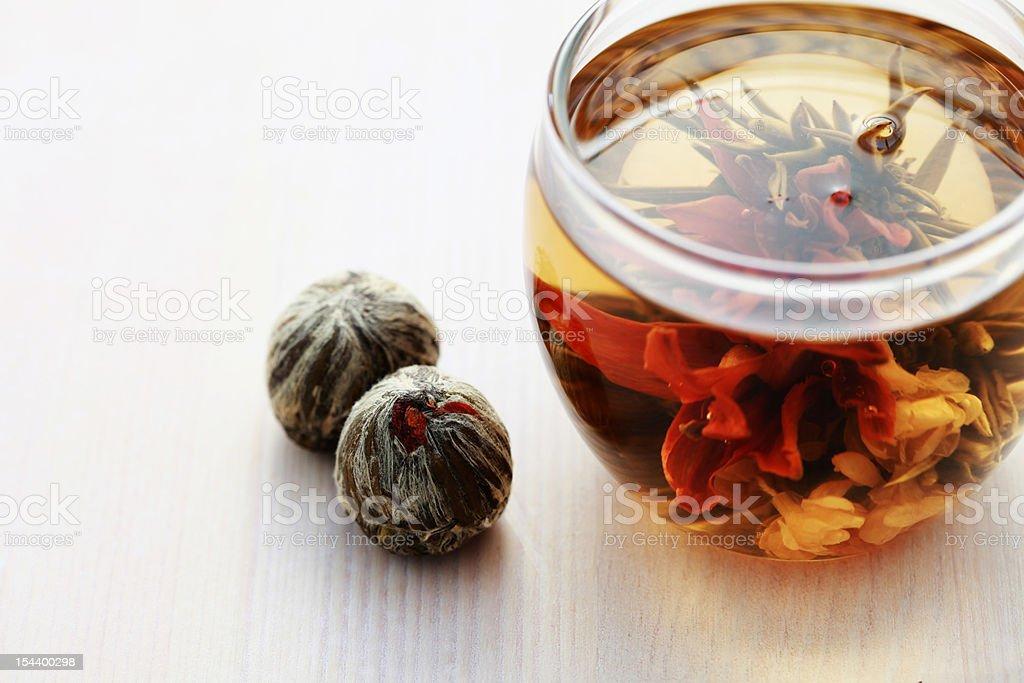 tea balls stock photo