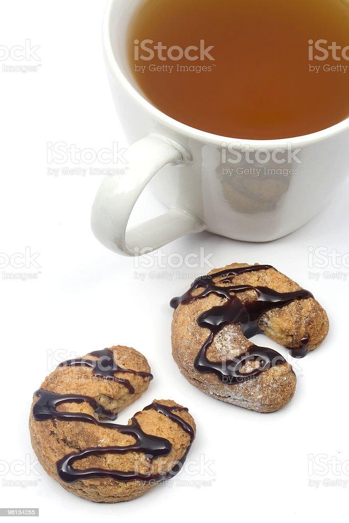 Biscotti, tè foto stock royalty-free