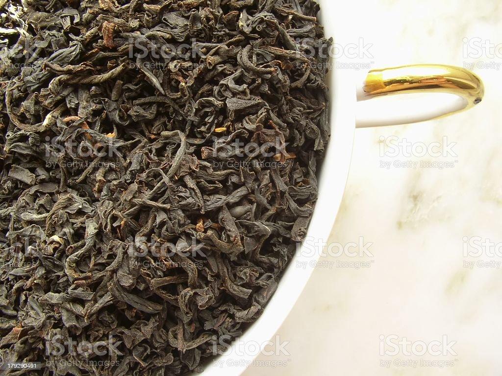 tea - black royalty-free stock photo