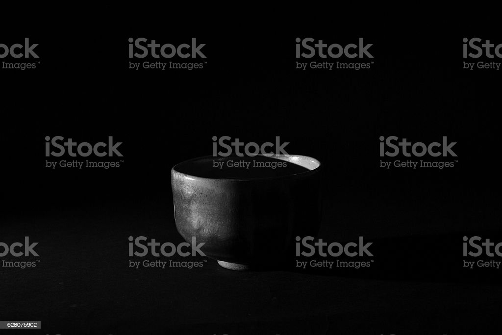 Tea bowl stock photo