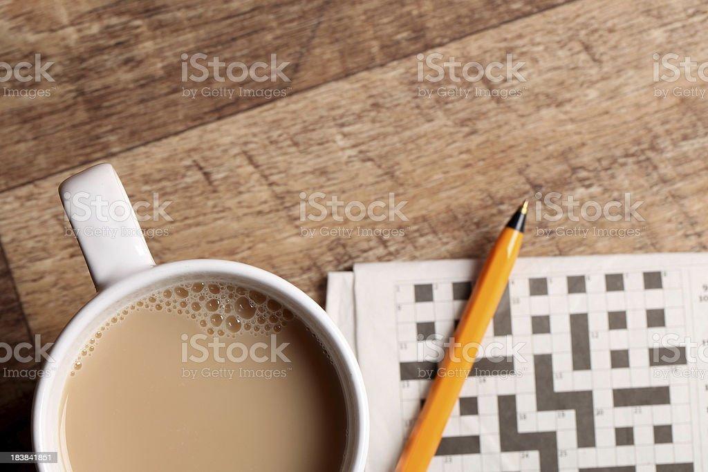 Tea break stock photo