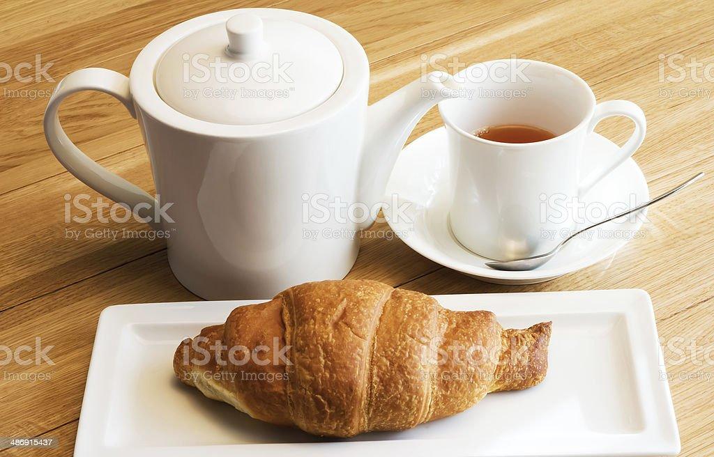 Tea breakfast royalty-free stock photo
