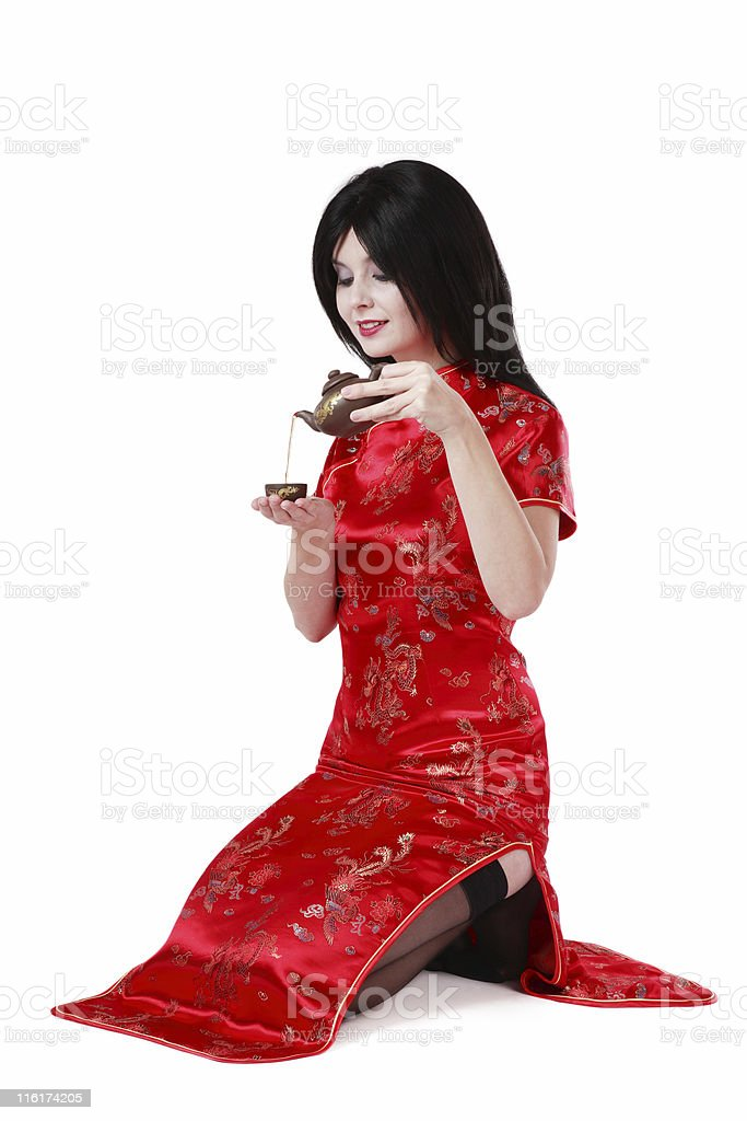 Tea ceremony royalty-free stock photo