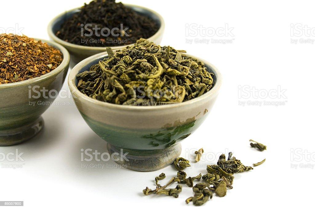 tea collection royalty free stockfoto