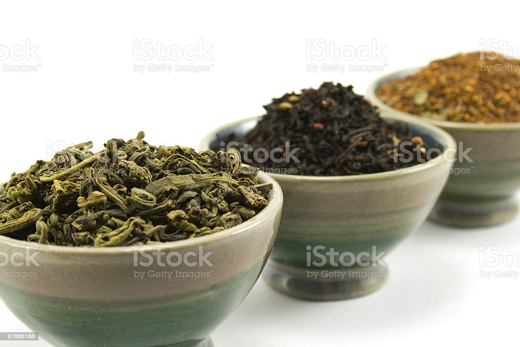 tea collection royalty-free stock photo