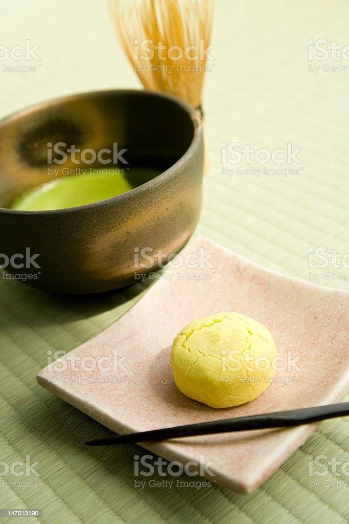 Tea culture of Japan royalty-free stock photo