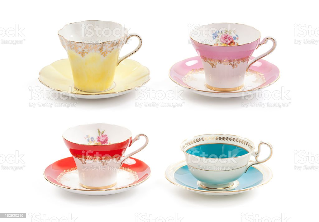 Tea Cups royalty-free stock photo