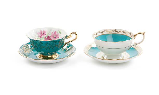 Tea Cups stock photo