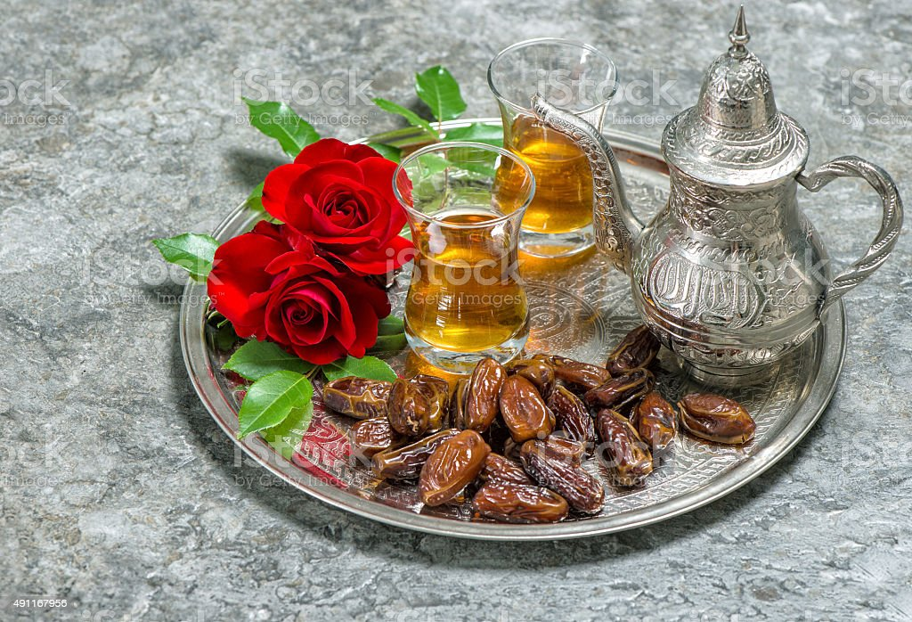 Must see Board Eid Al-Fitr Decorations - tea-dates-fruits-and-flowers-islamic-holidays-decoration-eid-alfitr-picture-id491167956  You Should Have_37171 .com/photos/tea-dates-fruits-and-flowers-islamic-holidays-decoration-eid-alfitr-picture-id491167956