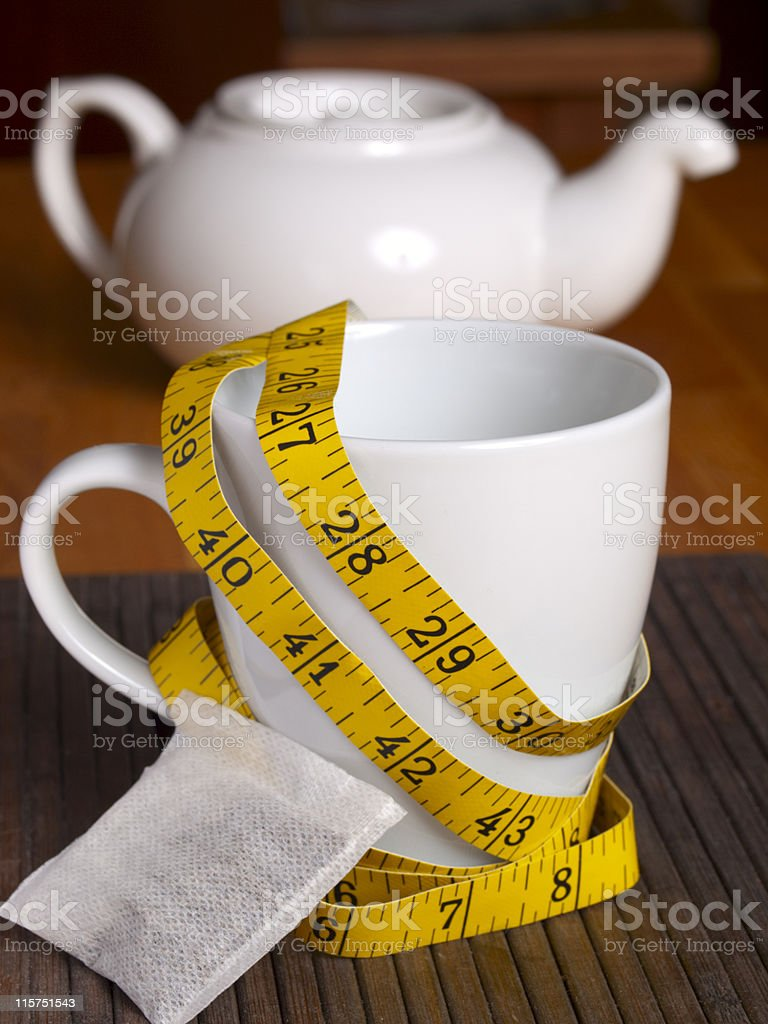 Tea for Healthy Living stock photo