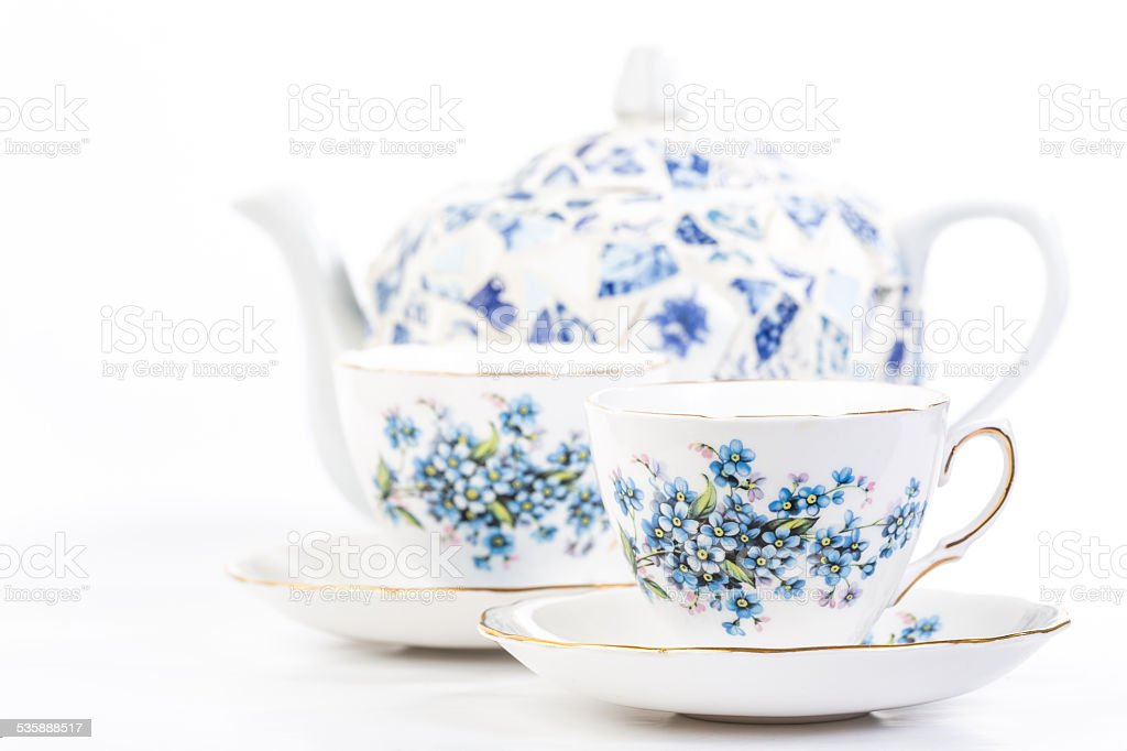 Tea for Two stock photo