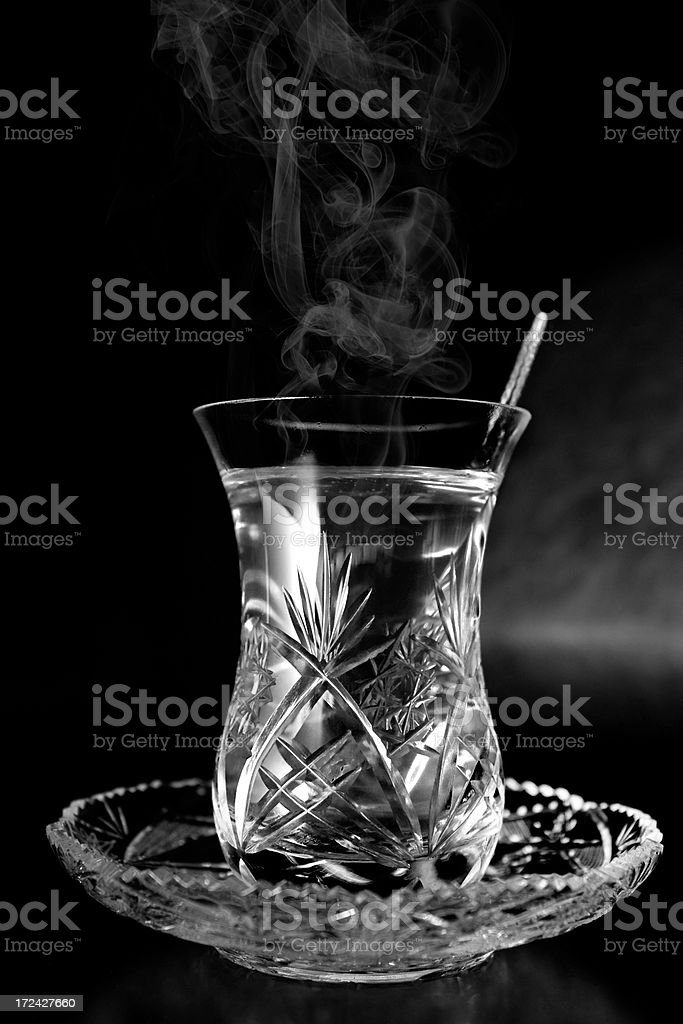 tea glasses royalty-free stock photo