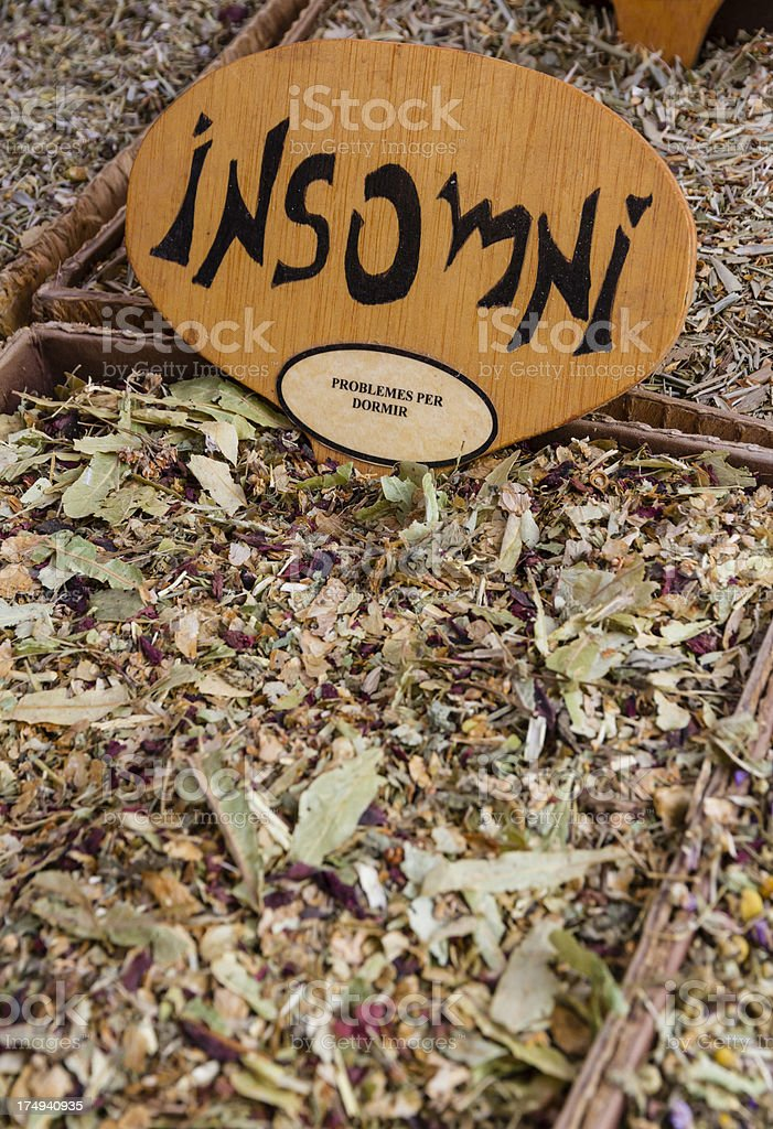 Tea Herbs royalty-free stock photo
