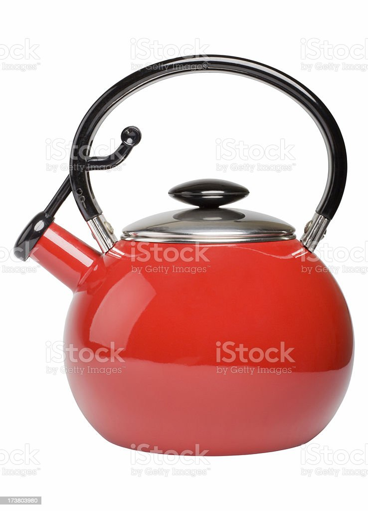 tea kettle (XL) stock photo