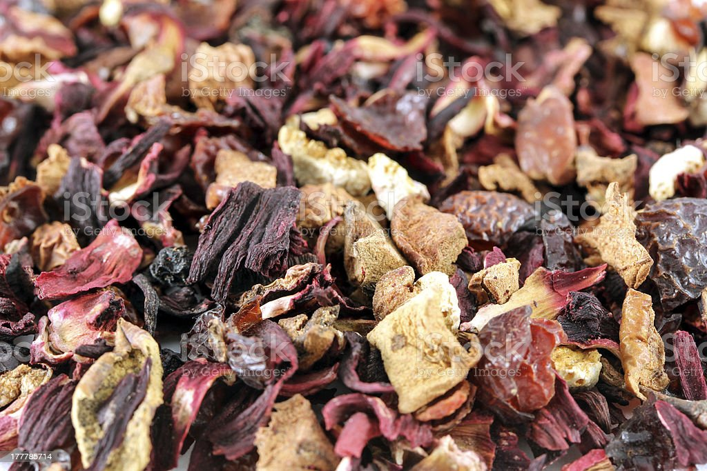 tea leafes royalty-free stock photo