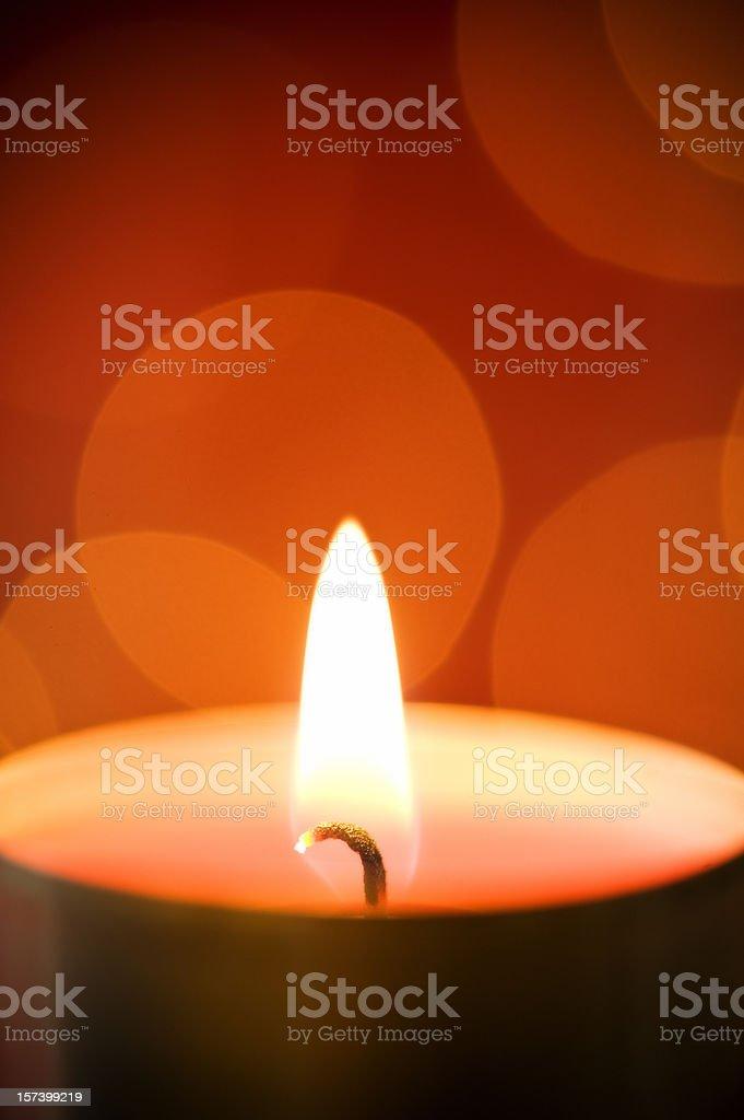 Tea lights royalty-free stock photo
