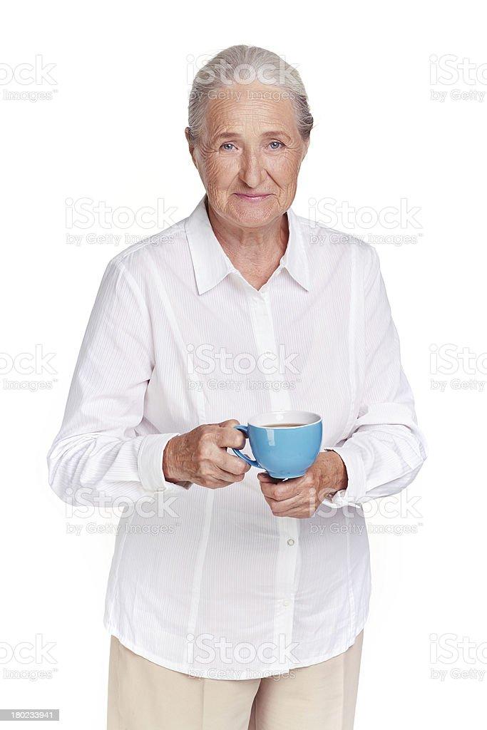 Tea lover royalty-free stock photo