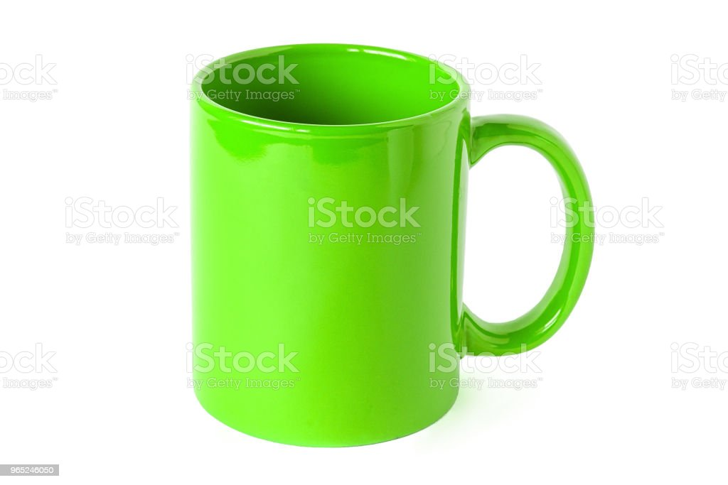 tea mug, isolated royalty-free stock photo