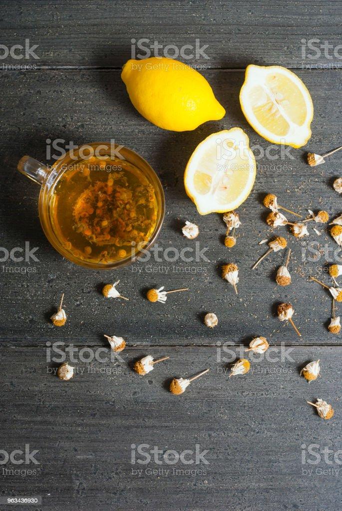 Thé noir - Photo de Agrume libre de droits